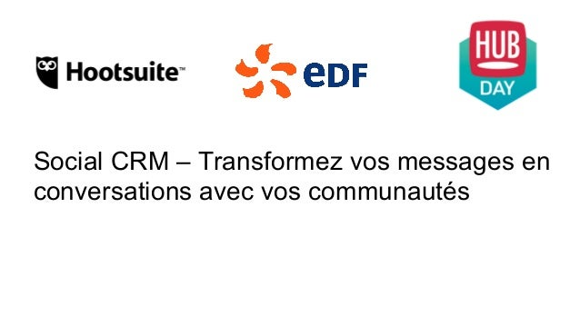 Social CRM – Transformez vos messages en conversations avec vos communautés