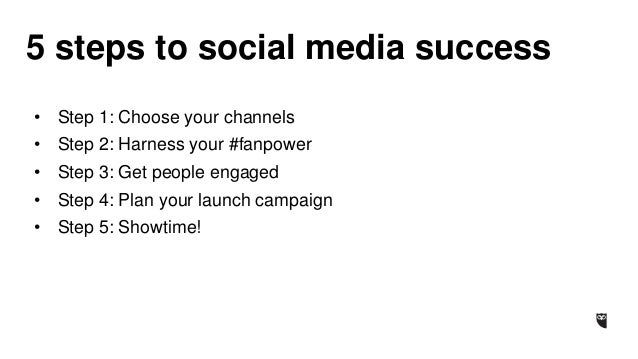 A 5-Step Guide to Social Media for the Entertainment Industry Slide 2