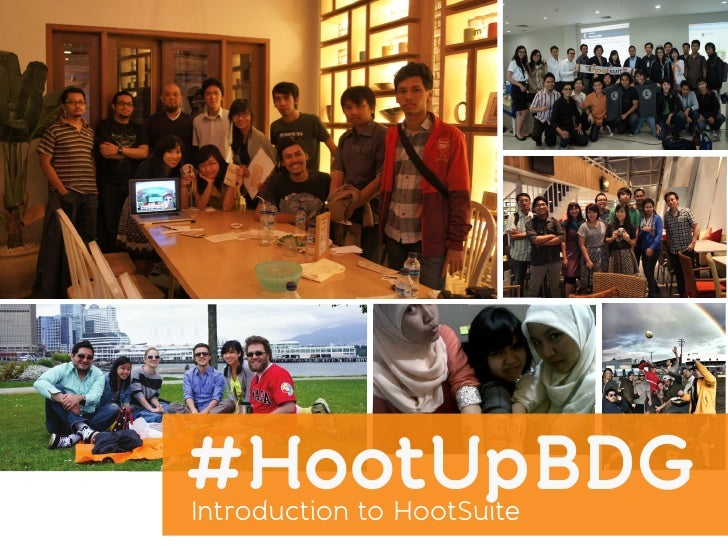 #HootUpBDGIntroduction to HootSuite