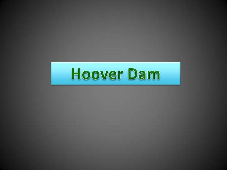 Hoover Dam<br />