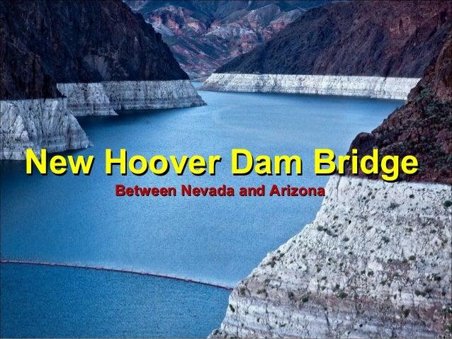 New Hoover Dam Bridge Between Nevada and Arizona