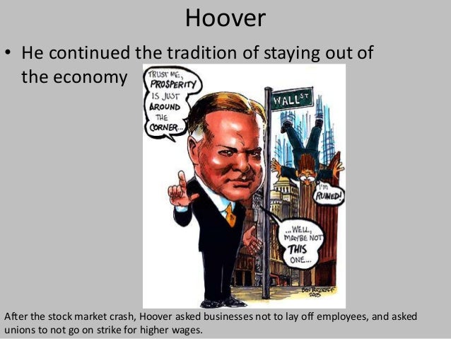 hoover vs fdr The biggest economic growth happened during franklin d roosevelt's   change in real gdp per capita in the united states from president hoover to  obama,.