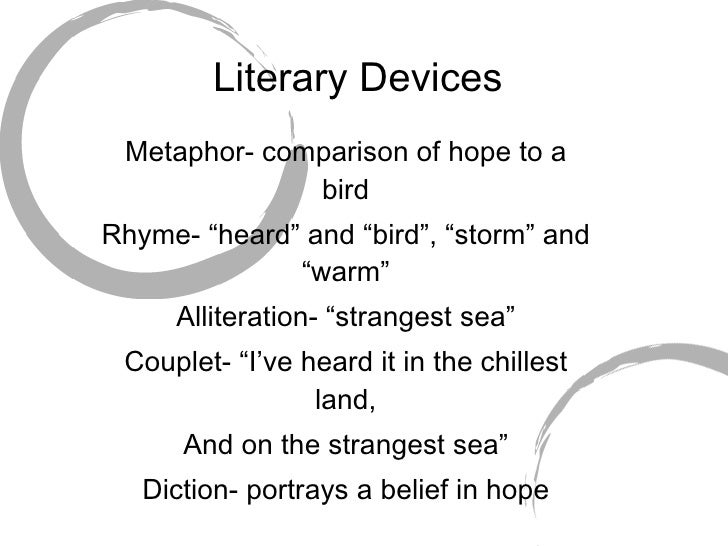 emily dickinson poems comparison