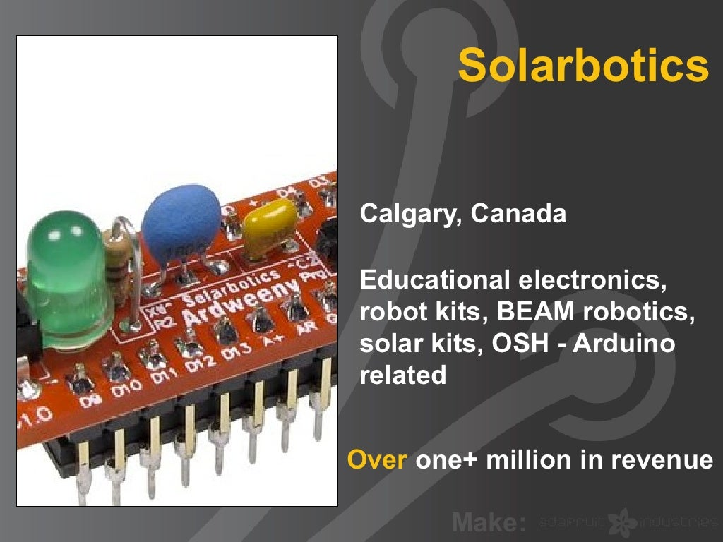 Solarbotics Calgary, Canada Educational electronics,