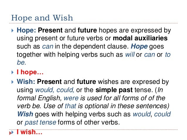 Expressing Wishes And Hopes In English Brad Erva Doce Info