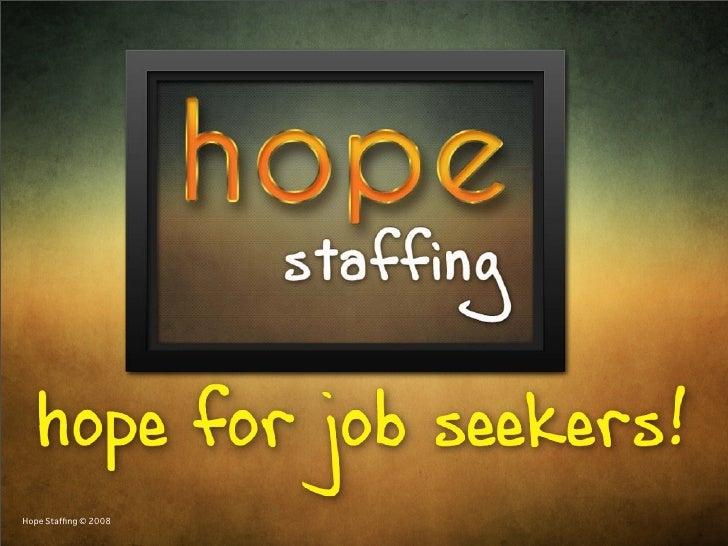 Hope Staffing © 2008