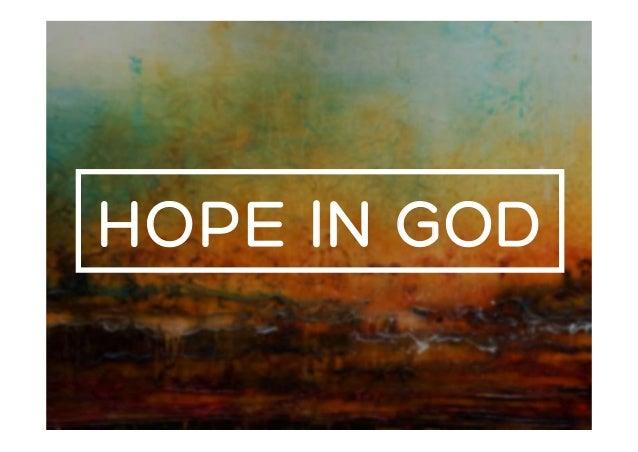 Image result for hope in god