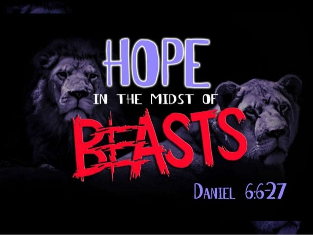 Hope in the midst of beasts   A sermon from Daniel for Advent 1