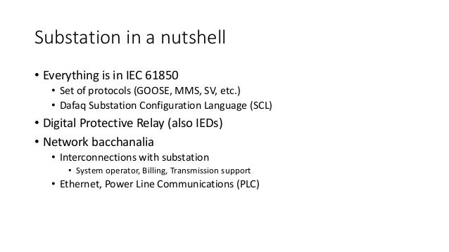 Recon: Hopeless relay protection for substation automation