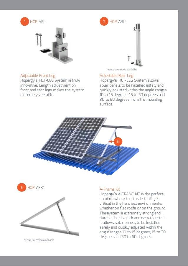 Hopergy Solar Mounting Structure Catalogue