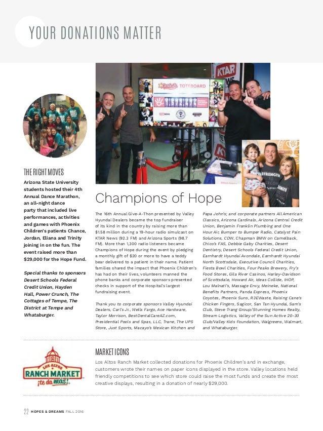 Hopes & Dreams Magazine - Fall 2016