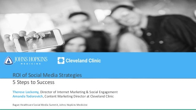 ROI of Social Media Strategies 5 Steps to Success Therese Lockemy, Director of Internet Marketing & Social Engagement Aman...