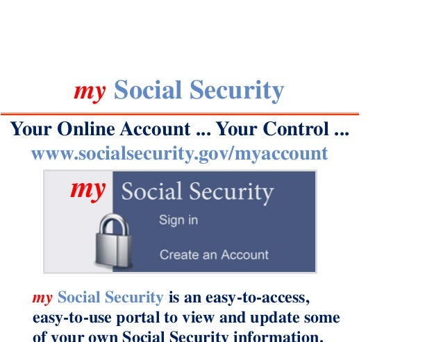 my Social Security | Social Security Administration