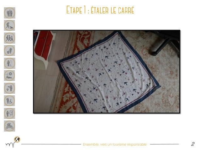[DIY] Furoshiki : sac avec un carré de tissu Slide 2