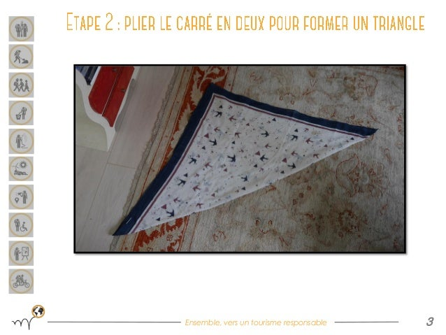 [DIY] Furoshiki : sac avec un carré de tissu Slide 3