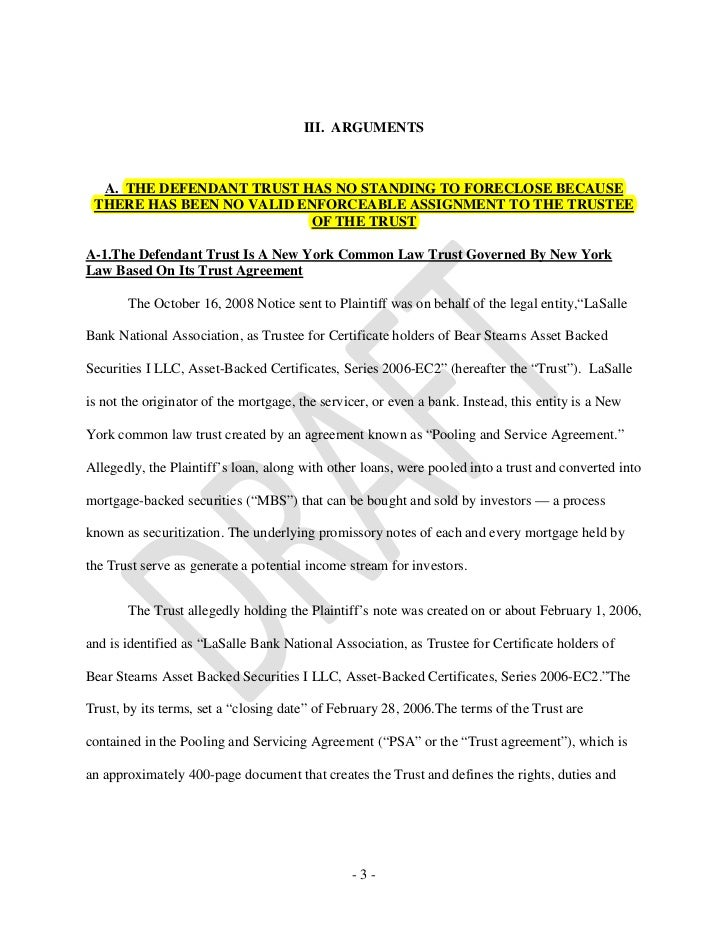 Horace v la salle summary judgment1 2 5 iii platinumwayz