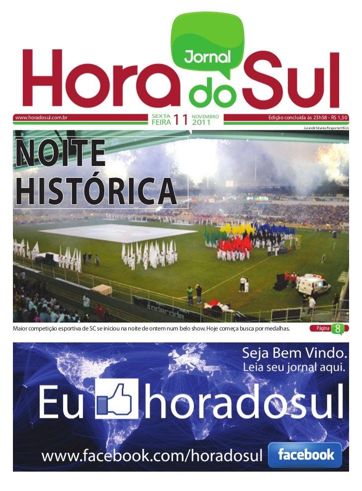 www.horadosul.com.br                                  SEXTA                                                      FEIRA   1...