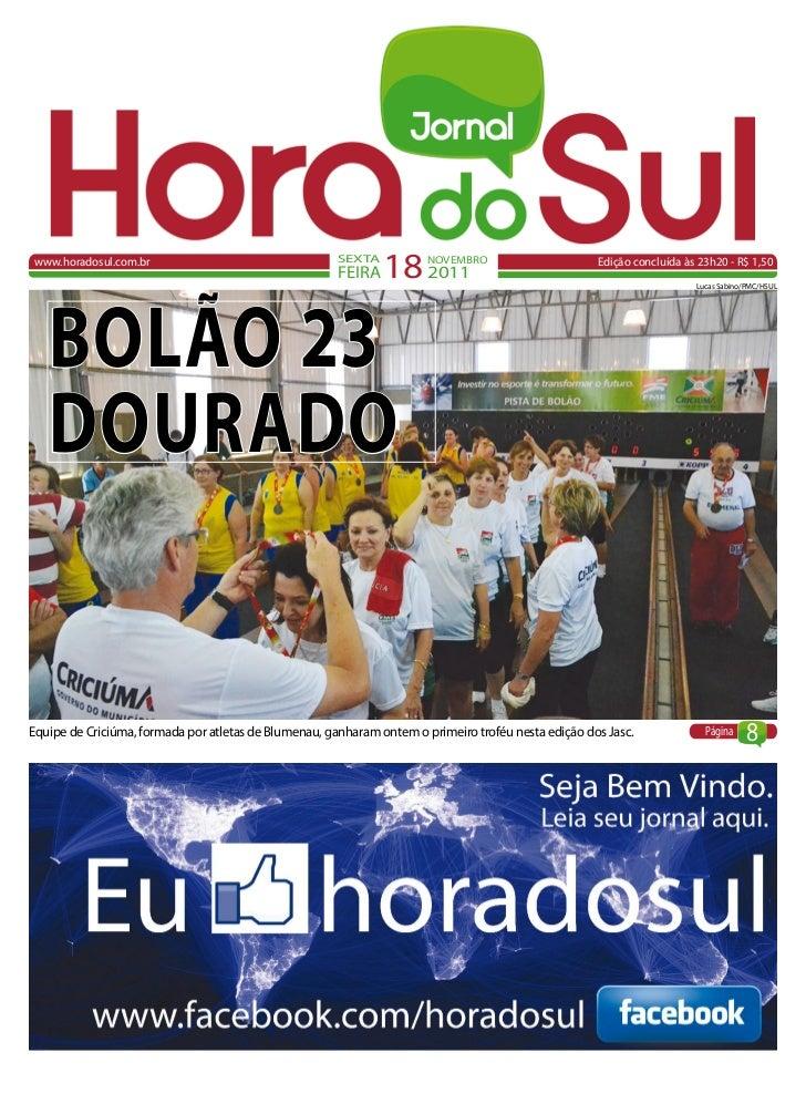 www.horadosul.com.br                                   SEXTA                                                       FEIRA  ...