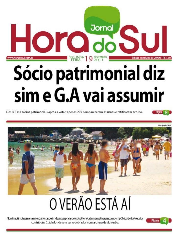 Hora do Sul 19/12/2011