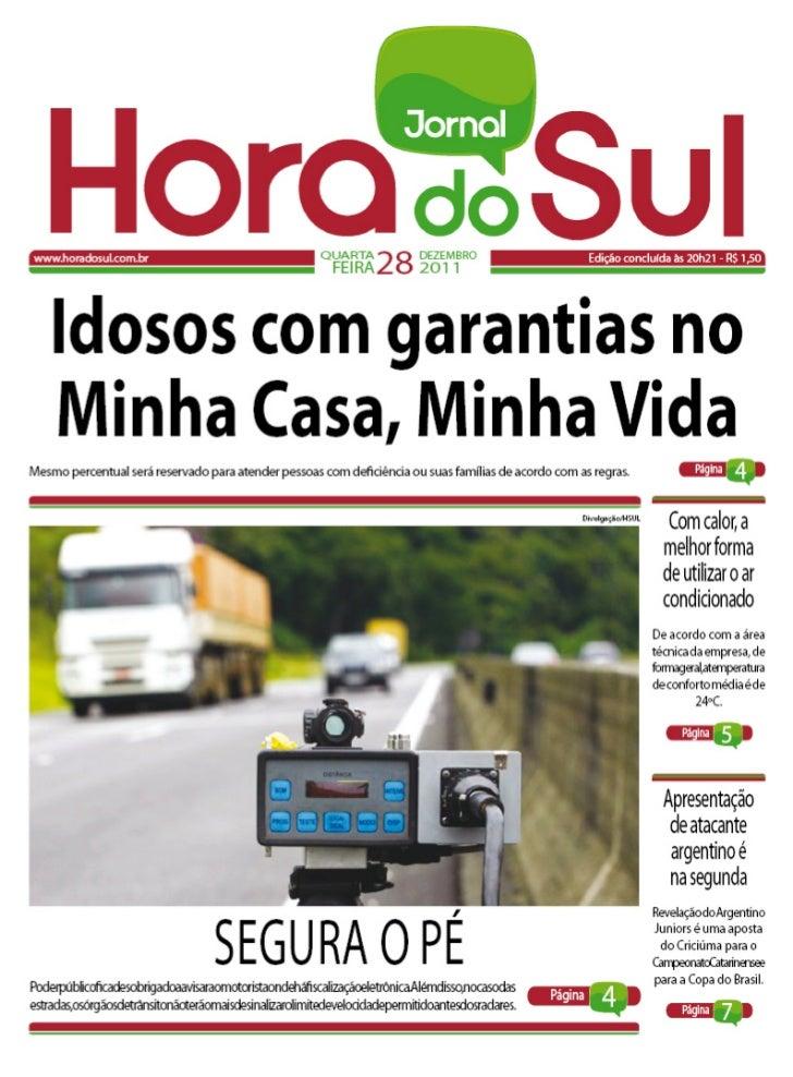 Hora do Sul 28/12/2011