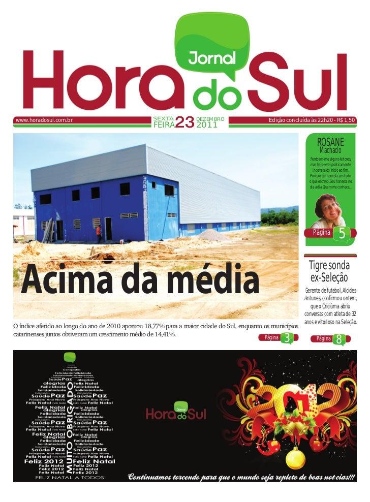 www.horadosul.com.br                               SEXTA                                                    FEIRA   23 201...