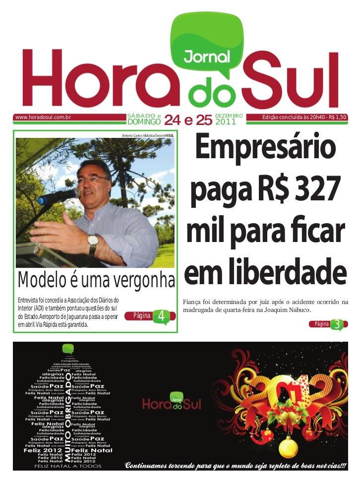 www.horadosul.com.br                                     SÁBADO e                                                         ...