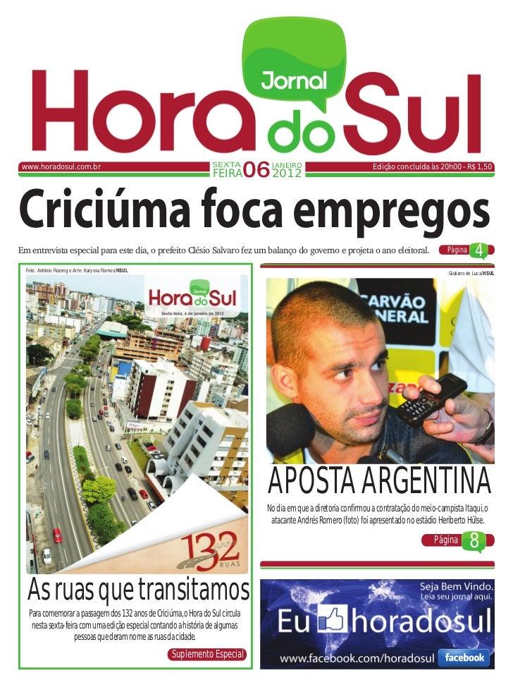www.horadosul.com.br                                              SEXTA                                                   ...