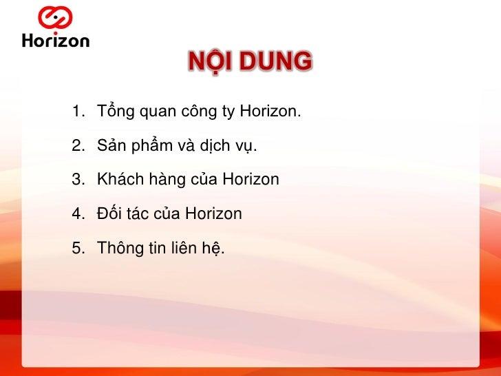 Horizon Slide 2