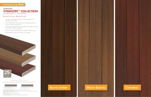 Fiberon Horizon Symmetry Decking Brochure
