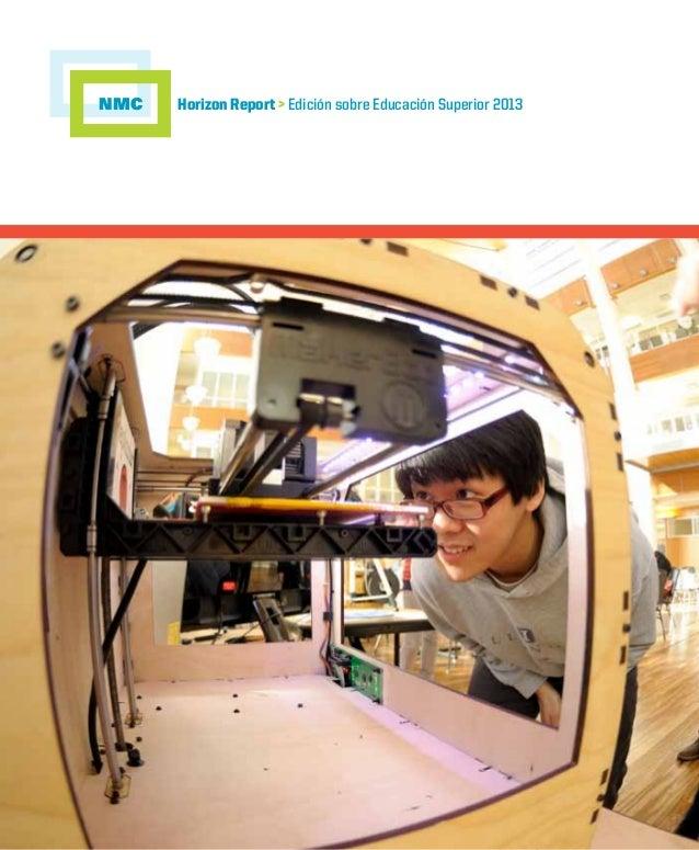 NMC  Horizon Report > Edición sobre Educación Superior 2013