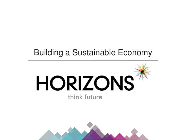 Building a Sustainable Economy