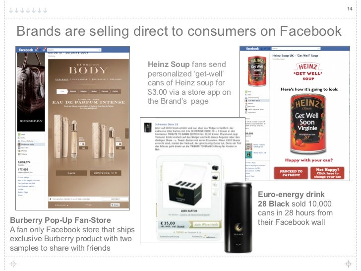 14 Brands are selling direct to consumers on Facebook                                       Heinz Soup fans send          ...
