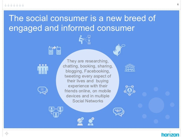 6    The social consumer is a new breed of    engaged and informed consumer                    They are researching,      ...