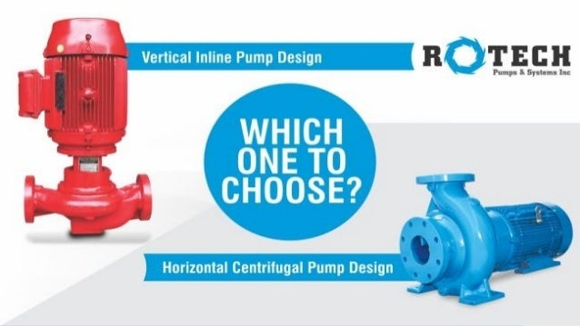 Horizontal or vertical inline pump design – which one to
