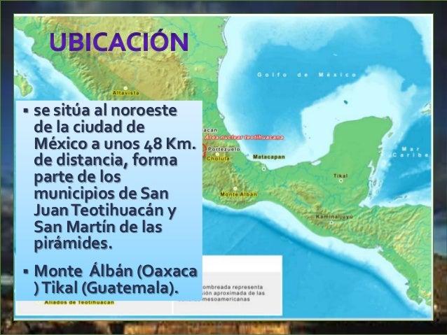 Teotihuacán fue un sitió venerado por los Aztecas , se convirtió en su centro de peregrinación desde Tenochtitlán (actual ...