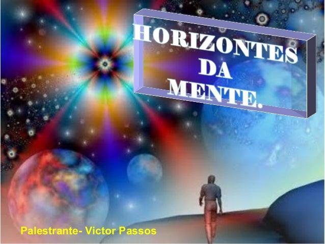 Palestrante- Victor Passos