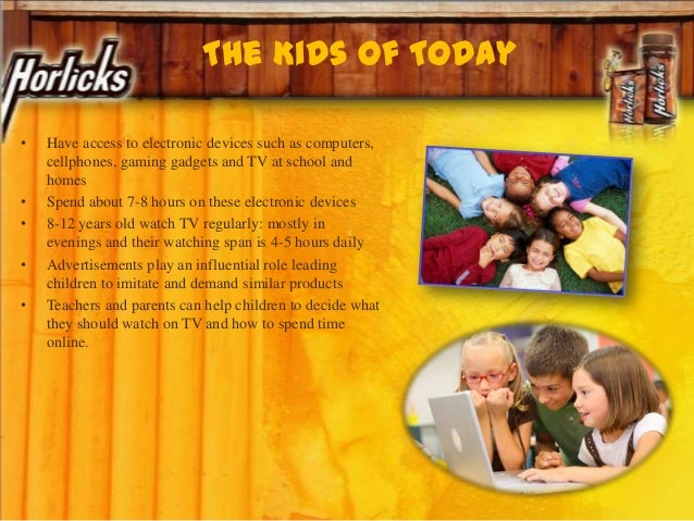 The Kids Of Today • Have access to electronic devices such as computers, cellphones, gaming gadgets and TV at school and h...