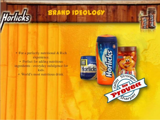 BRAND IDEOLOGY • For a perfectly nutritional & Rich experience. • Perfect for adding nutritious ingredients - everyday ind...