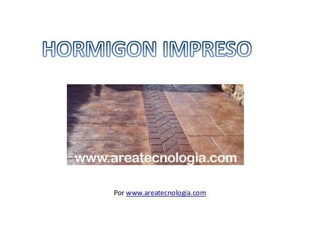 ejecucion de pavimentos de hormigon impreso eocb0209