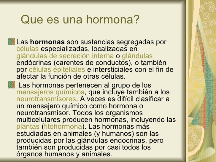 Hormonas Slide 2
