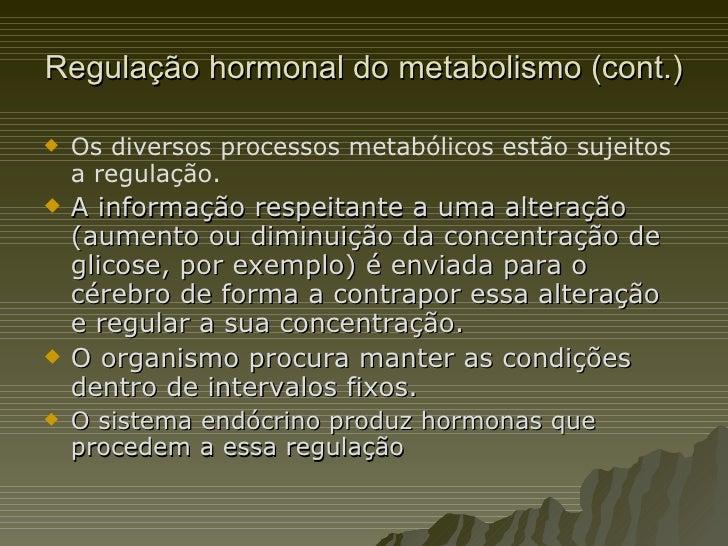 Hormonas e metabolismo do etanol Slide 2