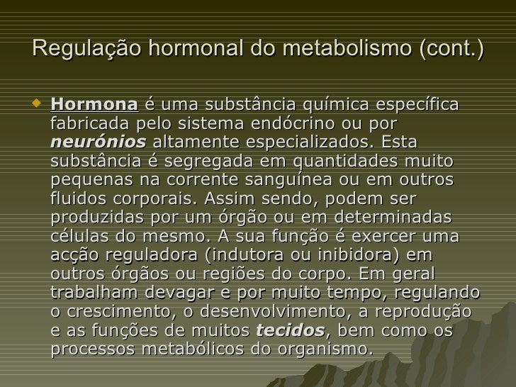 Hormonas e metabolismo do etanol Slide 3