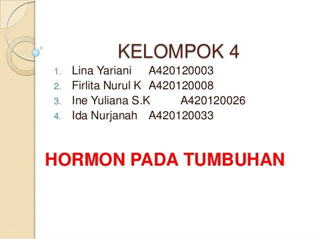 KELOMPOK 4 1. Lina Yariani A420120003 2. Firlita Nurul K A420120008 3. Ine Yuliana S.K A420120026 4. Ida Nurjanah A4201200...