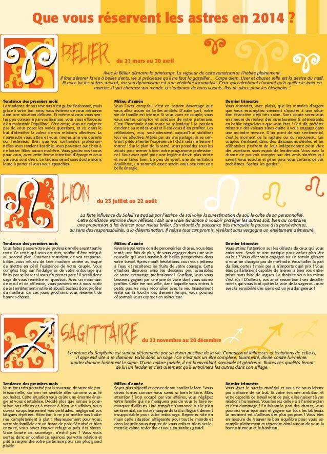 Horoscope 2014 Slide 2