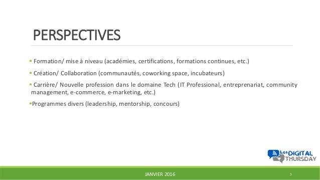 Femmes et technologies, opportunités et plateformes existantes au Cameroun - #DigitalThursday #Edition7 Slide 3