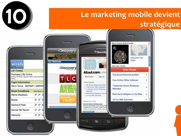 Le marketing mobile devient stratégique 10