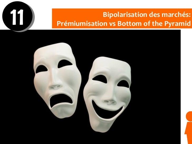 Bipolarisation des marchés: Prémiumisation vs Bottom of the Pyramid 11