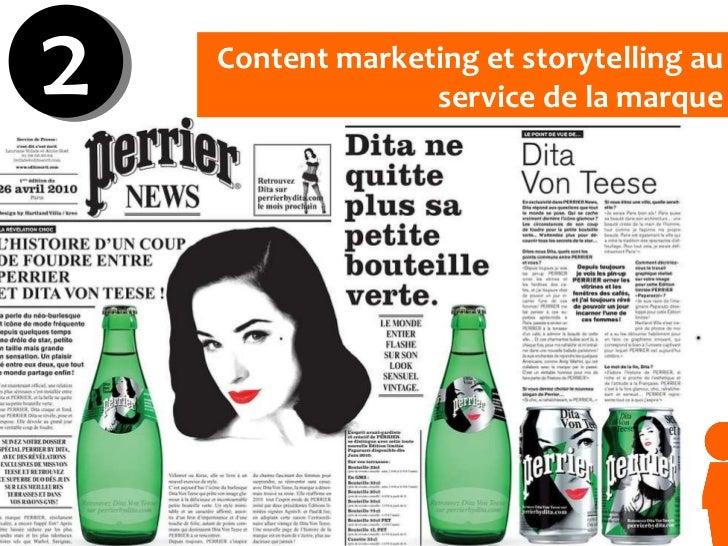 Content marketing et storytelling au service de la marque 2