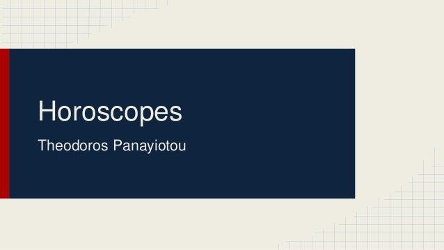 Horoscopes Theodoros Panayiotou