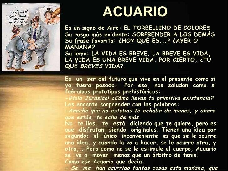 Signos del zodiaco for Horoscopo de hoy acuario